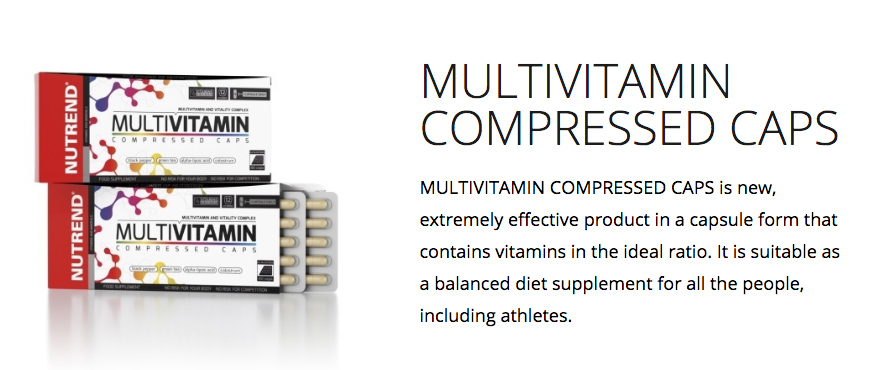 Nutrend MultiVitamin Compressed
