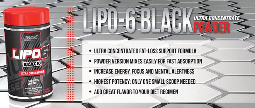 Nutrex Lipo-6 Black Ultra Concentrate Powder