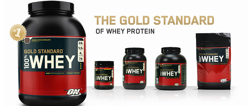 ON 100% Whey Gold