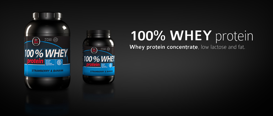 Oxygen Nutrition 100% Whey