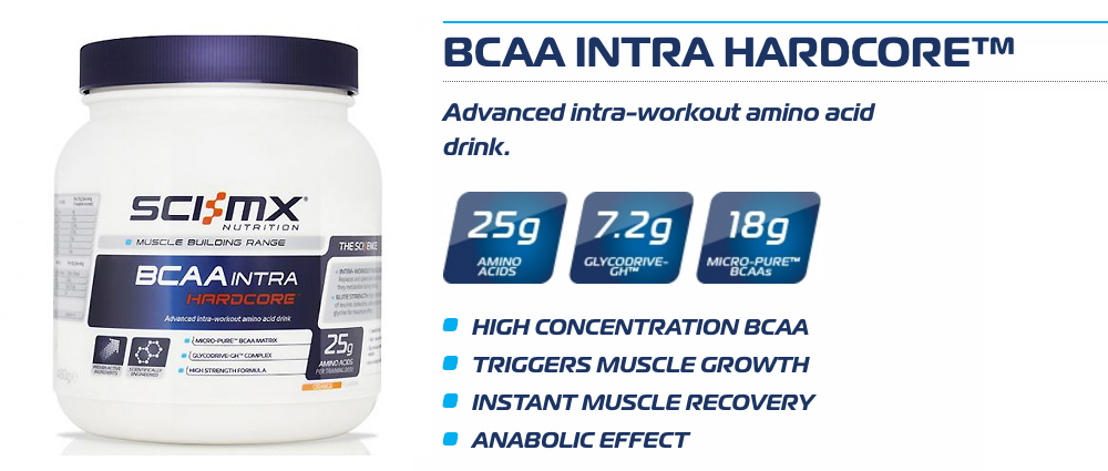 Sci-MX BCAA Intra Hardcore