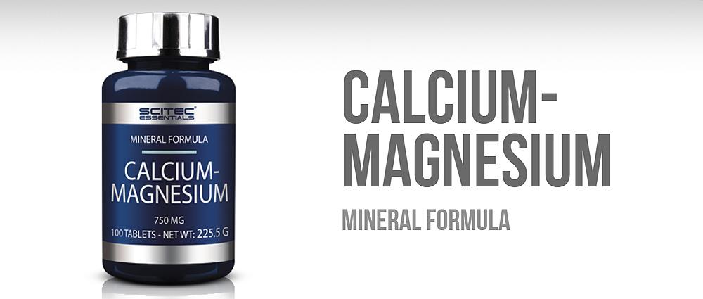 Scitec Essentials Calcium Magnesium