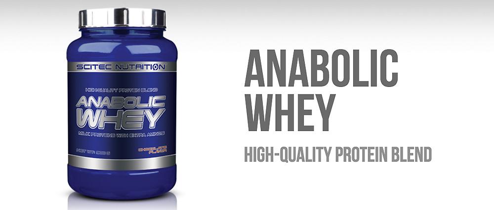 Scitec Nutrition Anabolic Whey