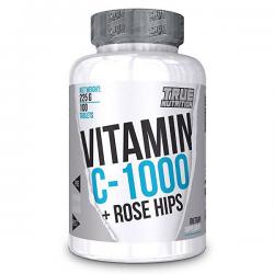 True Nutrition Vitamin C-1000 + Rose Hips (100ct)