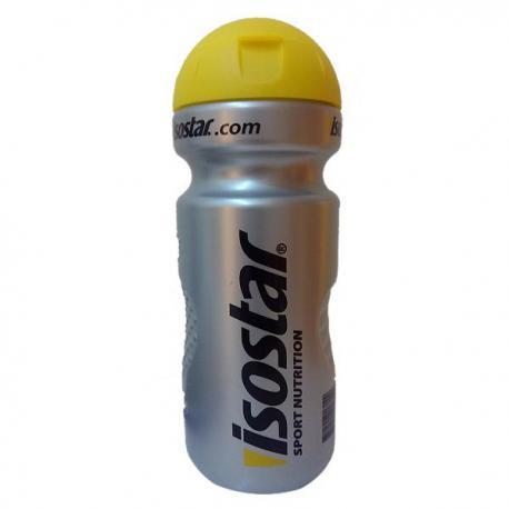 Isostar water bottle - Yellow lid (650ml)