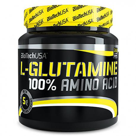 BioTechUSA 100% L-Glutamine (240g)