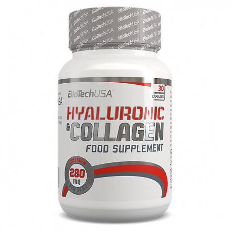 BioTechUSA Hyaluronic & Collagen (30ct)