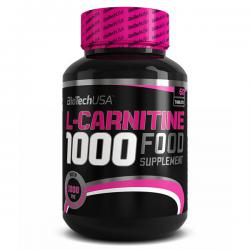 BioTechUSA L-Carnitine 1000mg (60ct)