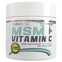 BioTechUSA MSM + Vitamin C (150g)