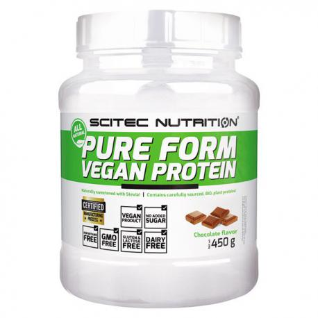 Scitec Nutrition Pure Form Vegan Protein (450g)