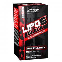 Nutrex Lipo-6 Black UC (60ct)