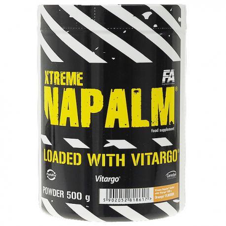 FA Xtreme Napalm loaded with Vitargo (500g)