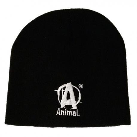 Animal Black Beanie